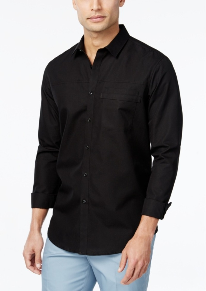 Inc International Concepts Men's Kulun Long-Sleeve Shirt, Only at Macy's