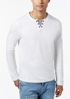 INC I.n.c. Men's Layered Long-Sleeve Shirt, Created for Macy's