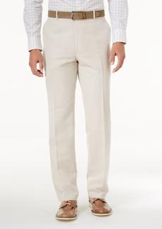 INC I.n.c. Men's Linen-Blend Dress Pants, Created for Macy's