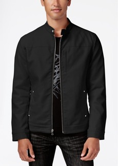 INC I.n.c. Men's Lukas Faux-Leather Jacket, Created for Macy's