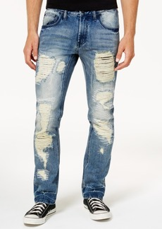 INC I.n.c. Men's Mega-Ripped Slim-Fit Jeans, Created for Macy's