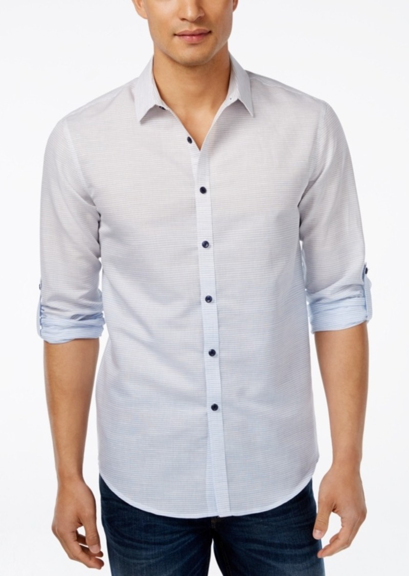 Inc International Concepts Men's Menken Long-Sleeve Shirt, Only at Macy's
