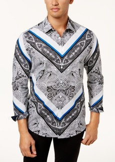 INC I.n.c. Men's Paisley Shirt, Created for Macy's