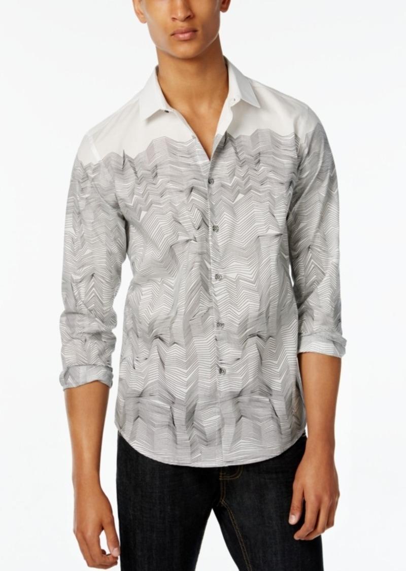 Inc International Concepts Men's Parallel Long-Sleeve Shirt