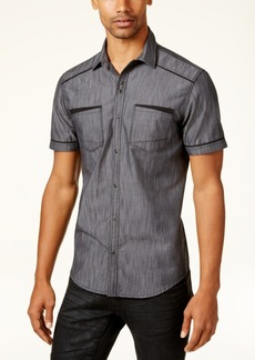 INC I.n.c. Men's Shiny Chambray Shirt, Created for Macy's