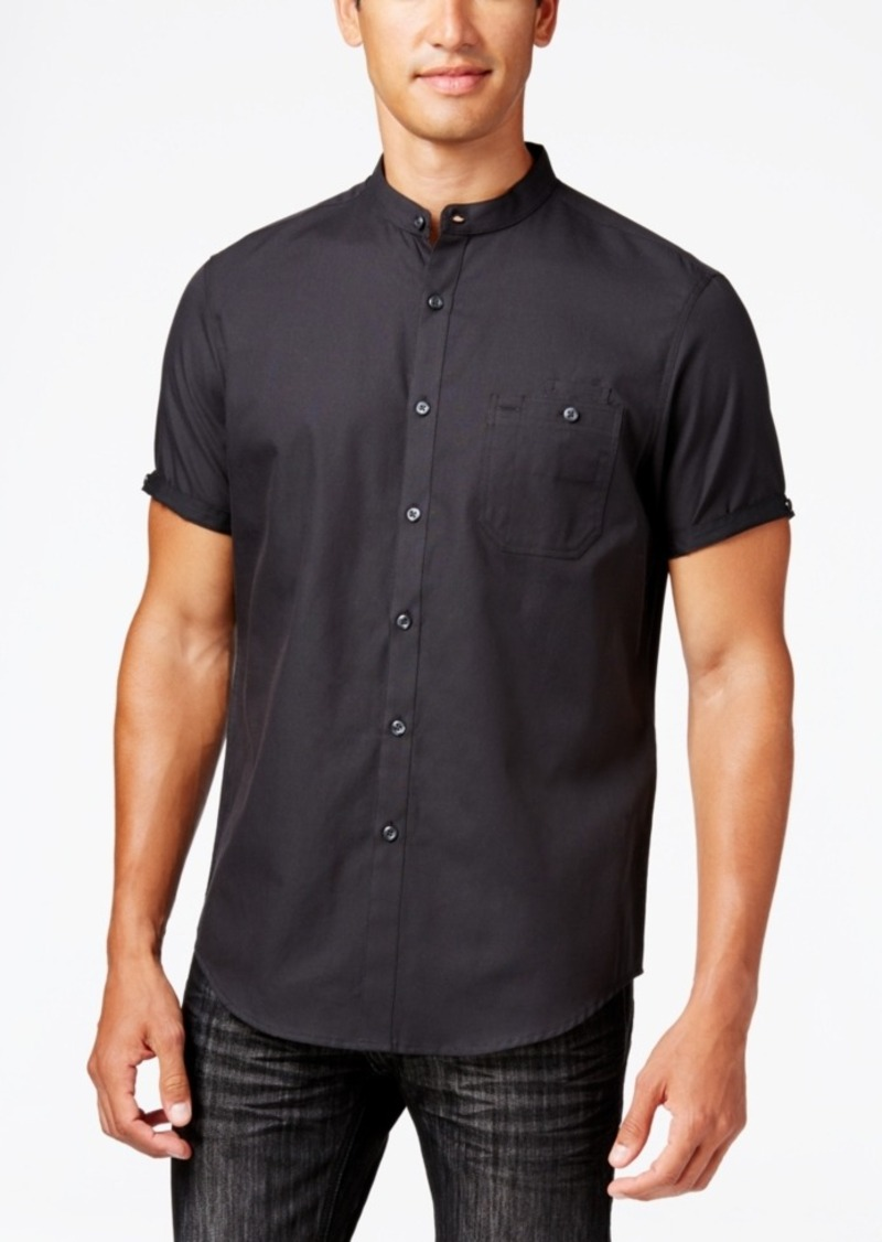Inc International Concepts Men's Shorts-Sleeve Deft Shirt, Created for Macy's