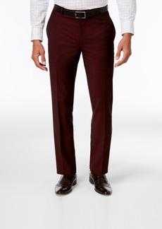 INC I.n.c. Men's Slim-Fit Burgundy Pants, Created for Macy's