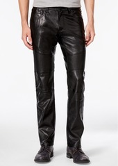 INC I.n.c. Men's Slim-Fit Faux Leather Pants, Created for Macy's