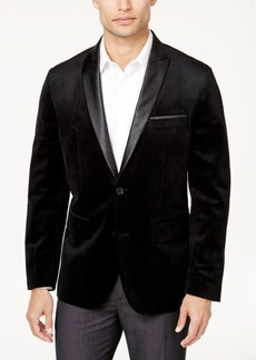 INC I.n.c. Men's Slim-Fit Velvet Blazer, Created for Macy's