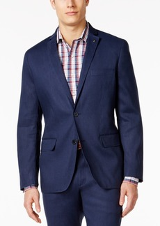 INC I.n.c. Men's Slim-Fit Stretch Linen Blazer, Created for Macy's