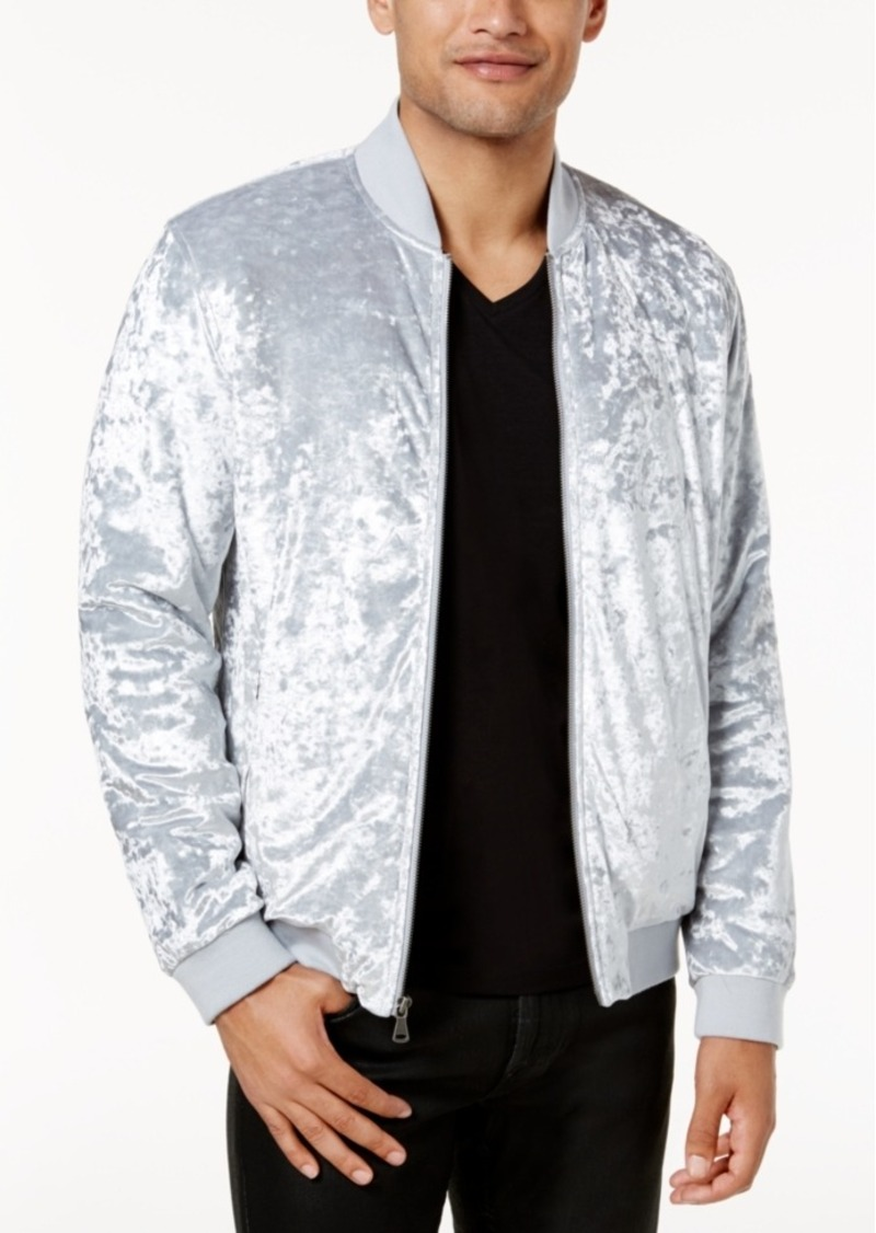 88bb3b271 I.n.c. Men's Spade Velvet Bomber Jacket, Created for Macy's