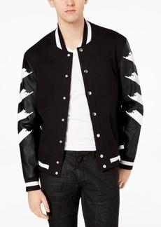 INC I.n.c. Men's Strokes Varsity Jacket, Created for Macy's