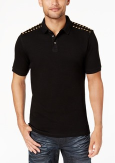 INC I.n.c. Men's Studded Polo, Created for Macy's