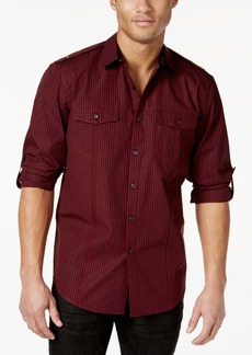 INC I.n.c. Men's Roll Tab Shirt, Created for Macy's