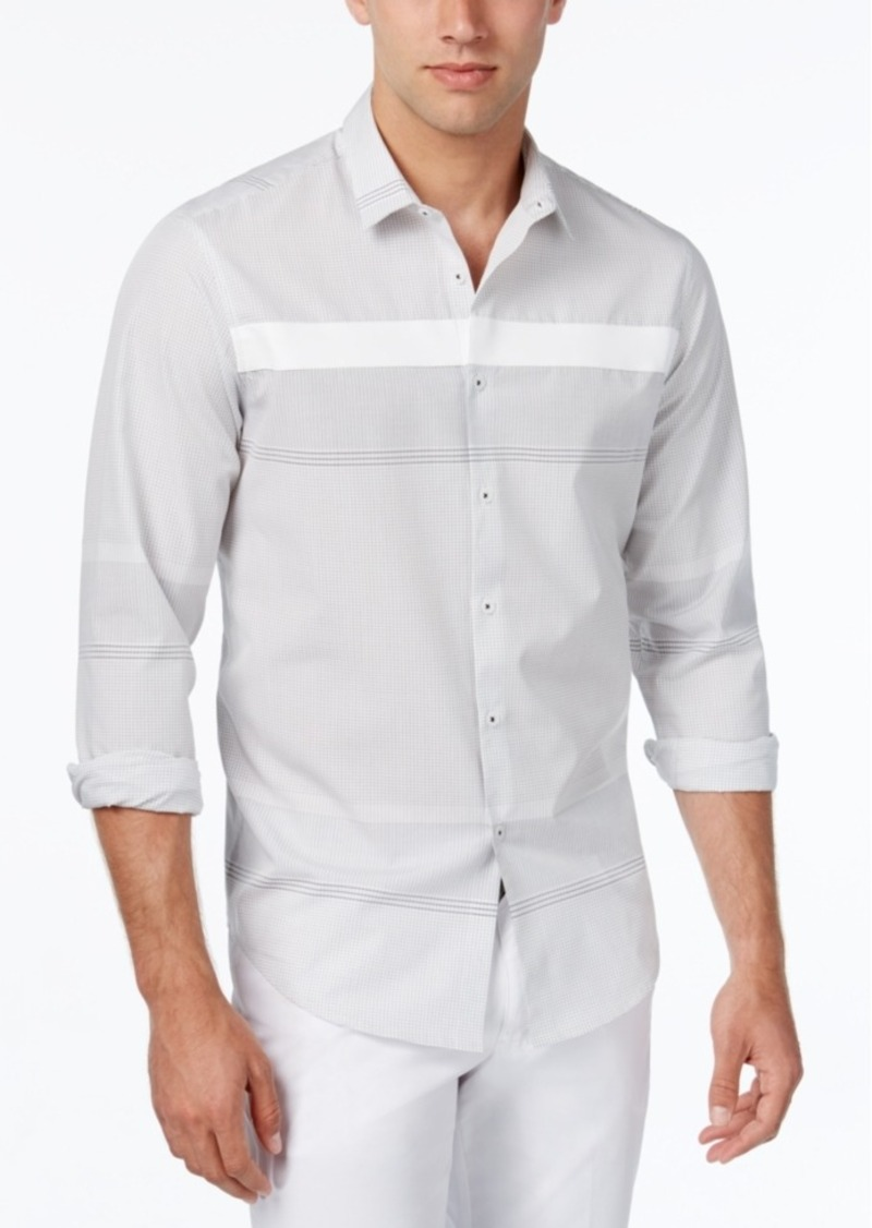 Inc International Concepts Men's Tracery Shirt, Only at Macy's