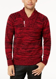 INC I.n.c. Men's Two-Tone Shawl-Collar Sweater, Created for Macy's