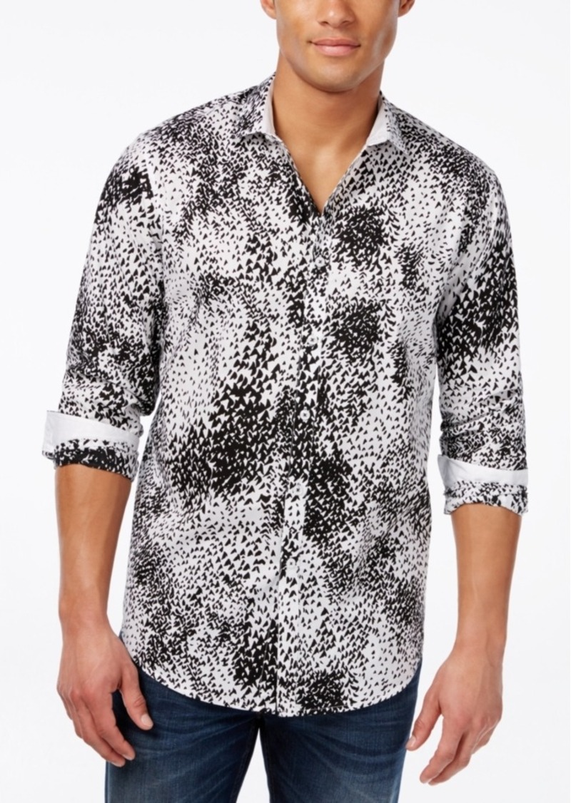 Inc International Concepts Men's Zach Long-Sleeve Shirt, Only at Macy's