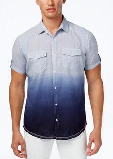 INC I.n.c. Ombre Short-Sleeve Shirt, Created for Macy's