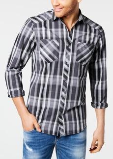 INC I.n.c. Men's Aaron Plaid Shirt, Created for Macy's