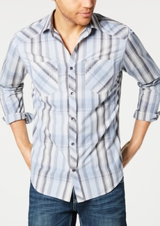 INC I.n.c. Men's Aaron Plaid Shirt, Created for Macy's