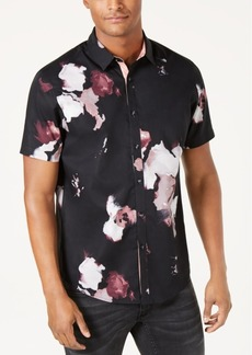 INC I.n.c. Men's Abstract Floral Shirt, Created for Macy's