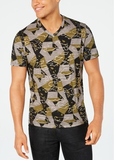 Inc Men's Abstract Geometric T-Shirt, Created for Macy's