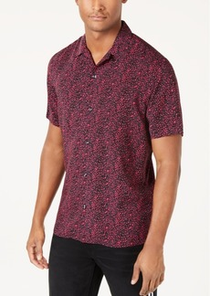 INC I.n.c. Men's Abstract Print Shirt, Created for Macy's