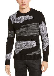 Inc Men's Allan Patterned Sweater, Created For Macy's