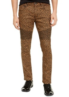 Inc Men's Animal Print Skinny Jeans, Created For Macy's