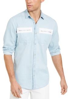 Inc Men's Avery Zip-Pocket Shirt, Created for Macy's