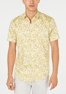 INC I.n.c. Men's Bacchus Paisley Shirt, Created for Macy's
