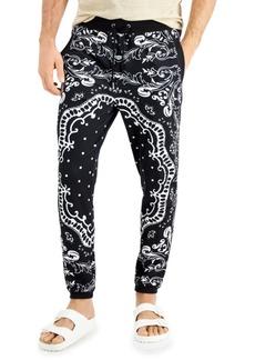 Inc Men's Bandana Jogger Pants, Created for Macy's