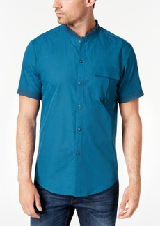 INC I.n.c. Men's Banded Collar Shirt, Created for Macy's