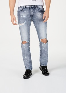 Inc Men's Bleach Splatter Jeans, Created for Macy's