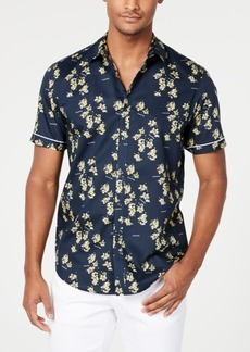 INC I.n.c. Men's Blooming Floral Shirt, Created for Macy's