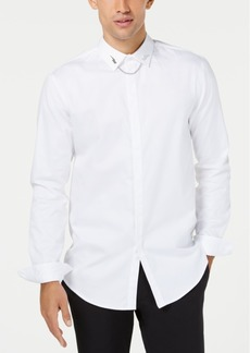 INC I.n.c. Men's Bolt Chain Shirt, Created for Macy's