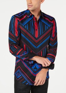 INC I.n.c. Mens Pattern Control Shirt, Created for Macy's