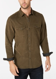 INC I.n.c. Men's Calban Corduroy Shirt, Created for Macy's