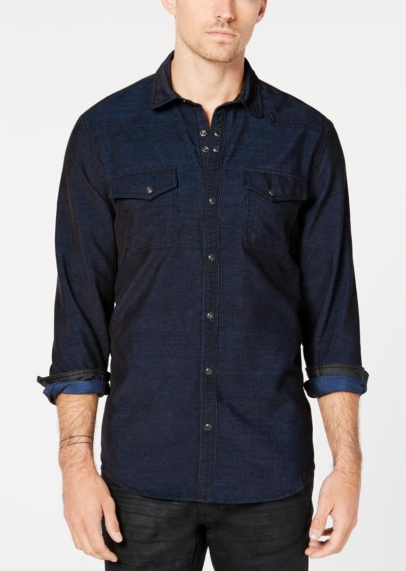 INC I.n.c. Men's Calban Corduroy Shirt, Created for Macy's