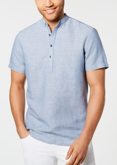 INC I.n.c. Men's Cameron Four-Button Shirt, Created for Macy's