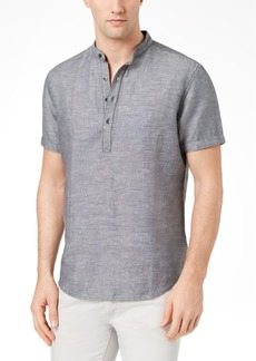 INC I.n.c. Men's Cameron Linen Shirt, Created for Macy's