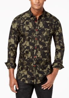INC I.n.c. Men's Camo Shirt, Created for Macy's