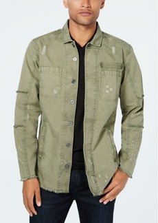 Inc Men's Captain Utility Shirt, Created for Macy's