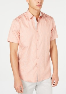 INC I.n.c. Men's Carter Jacquard Shirt, Created for Macy's