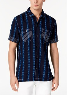 INC I.n.c. Men's Chain Print Shirt, Created for Macy's