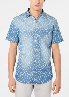 INC I.n.c. Men's Chambray Dandelion Shirt, Created for Macy's