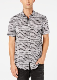 INC I.n.c. Men's Chambray Shirt, Created for Macy's