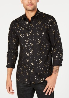 INC I.n.c. Men's Confetti Foil Shirt, Created for Macy's