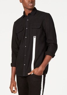 INC I.n.c. Men's Contrast Stripe Shirt, Created for Macy's