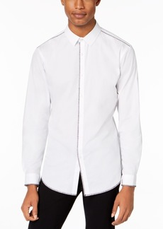 INC I.n.c. Men's Deco Topstitch Shirt, Created for Macy's
